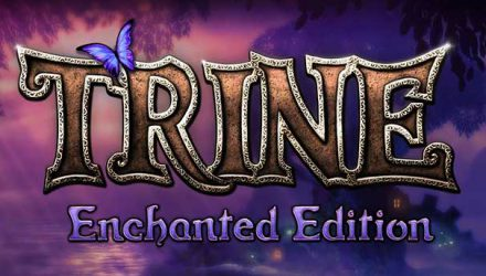 Screenshot Trine Enchanted Edition Startbildschirm