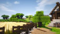 Screenshot Minecraft Kleine Farm