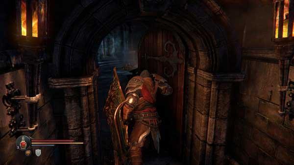 Screenshot aus Lords of the Fallen. Das Spiel sieht deutlich besser aus als Dark Souls 2.