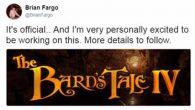 Bard's Tale 4 Ankündigung - Beitragsbild
