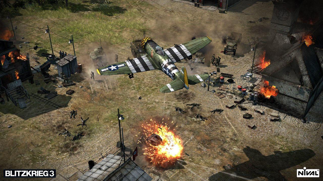 Mit dem asynchronen Multiplayer-Modus in Blitzkrieg 3 könnte Nival Interactive neue Maßstäbe setzen (Quelle: http://de.blitzkrieg.com)