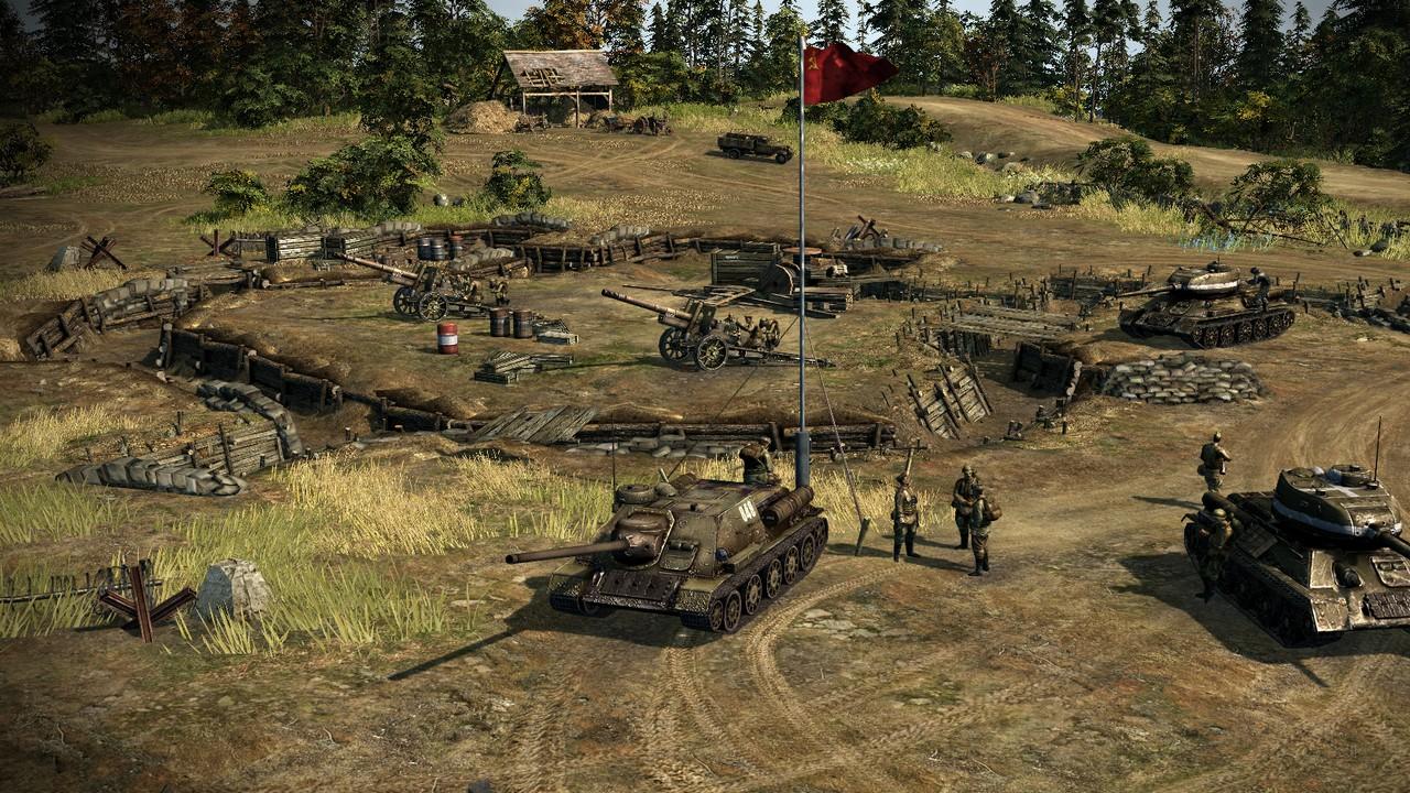 Mit Blitzkrieg 3 hat Nival Interactive ein heißes Eisen im Feuer (Quelle: http://de.blitzkrieg.com)
