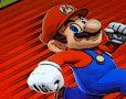 Smartphone mit Super Mario Run App