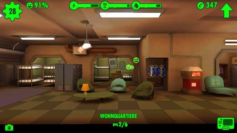 Fallout Shelter Baby machen