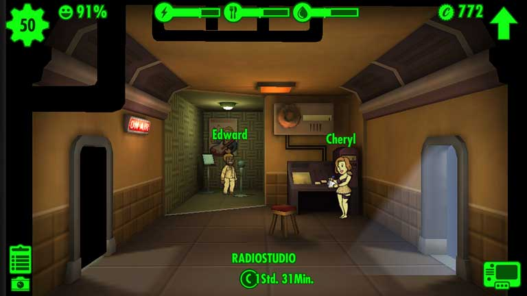 Fallout Shelter Radiostudio
