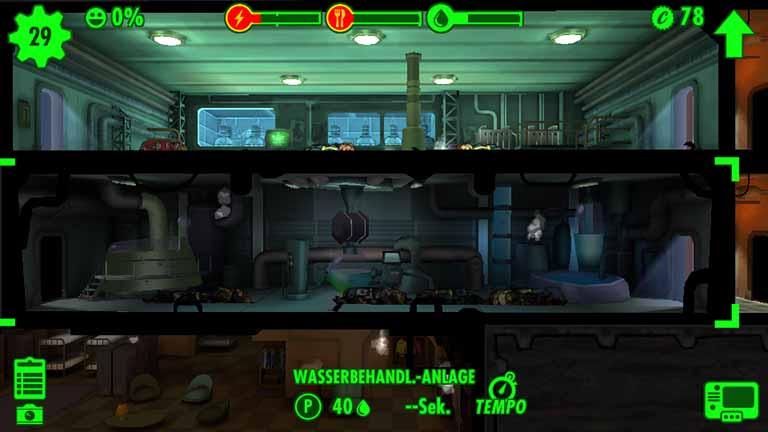 Null Prozent Zufriedenheit Fallout Shelter