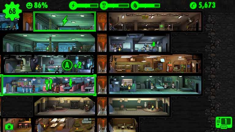Fallout Shelter Zufriedenheit steigern