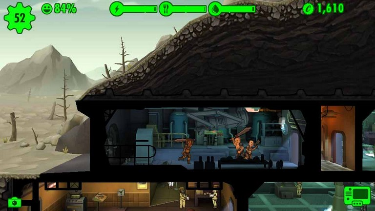 Fallout Shelter Raider Angriff