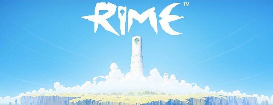 Screenshot Startbildschirm zum Videospiel RiME