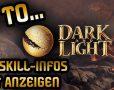 Beitragsbild zum Tutorial für Dark and Light. Wie man Item-Bezeichnungen und Skill-Namen korrekt anzeigt.