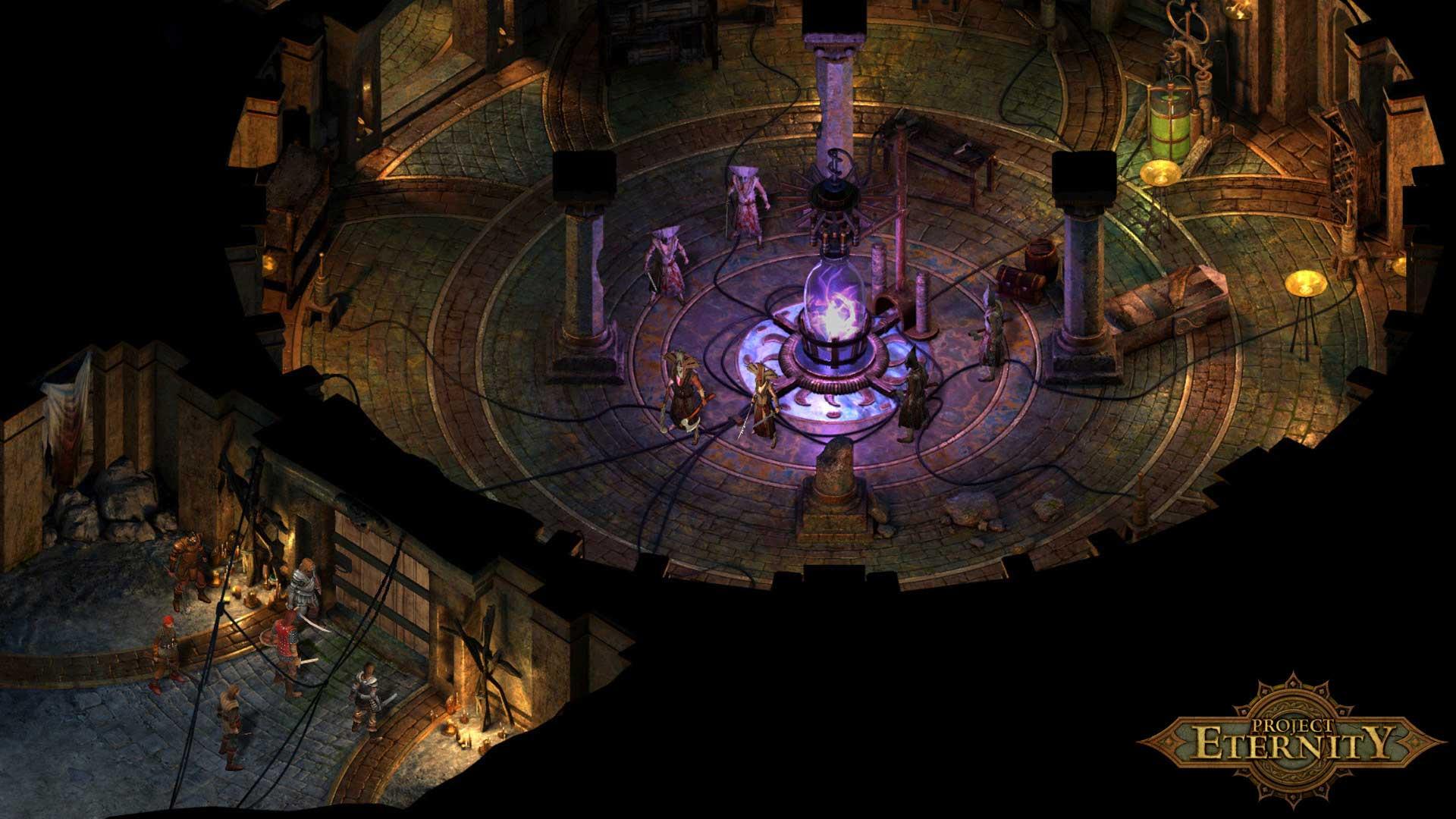 Pillars of Eternity Screenshot der Heldentruppe