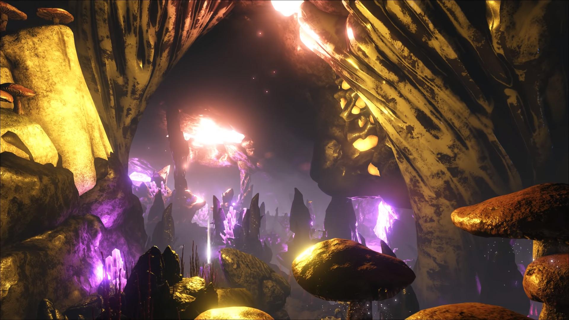ARK Valguero Höhlen