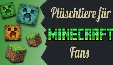 ZoS Gaming - Minecraft-Stofftiere